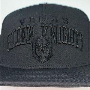 NWT Adidas NHL Vegas Golden Knights Snap Back Hat